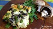 Asiago Portobello Cheese Souffle