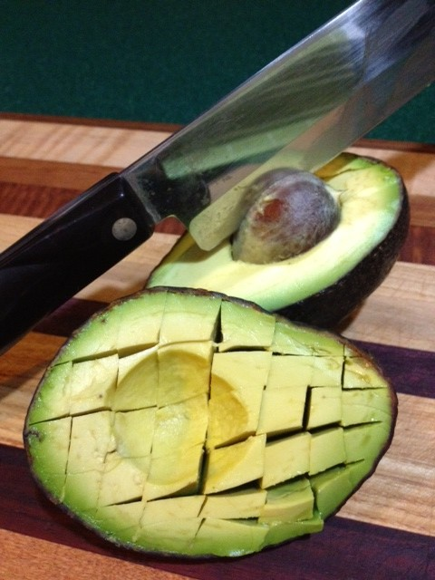 How to Slice and Dice an Avocado