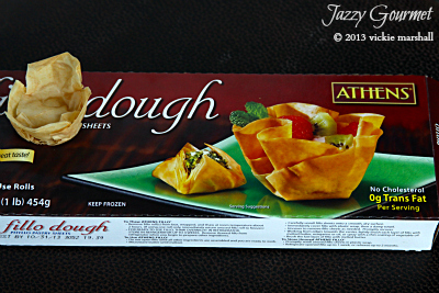 Working with Phyllo Dough by Jazzy Gourmet