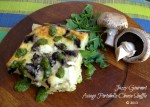 Asiago Portobello Cheese Souffle by Jazzy Gourmet
