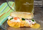 Cheesy Crab & Hammy Sammy by Jazzy Gourmet