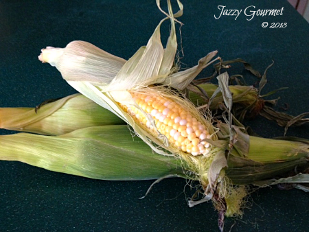 Cook Sweet Corn without Shucking