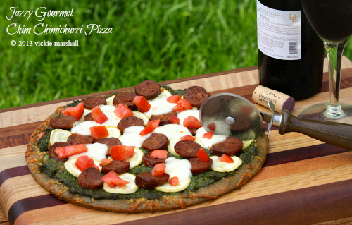 Chim Chimichurri Pizza