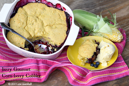 Corn-berry Cobbler