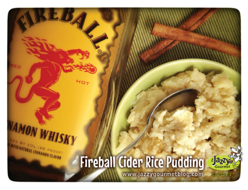 Fireball Cider Rice Pudding
