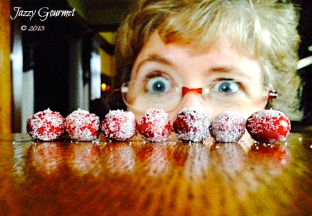 Sugared Cranberries?  Yes We Cran!